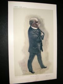 Vanity Fair Print 1908 The Little Great Premier
